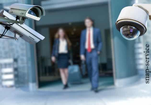 قوانین نصب دوربین در محل کار