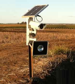 دوربین مداربسته بدون نیاز به برق